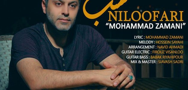 آهنگ شب نیلوفری از محمد زمانی